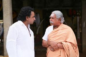 Ponvannan, Nassar in Kaaviya Thalaivan Movie Latest Photos