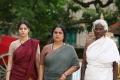 Vedika, Kuyili in Kaaviya Thalaivan Movie Latest Photos