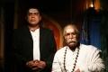 Thambi Ramaiah, Nassar in Kaaviya Thalaivan Movie Latest Photos