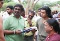 Director Vasanthabalan @ Kaaviya Thalaivan Movie Working Stills