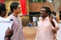Siddharth, Vasanthabalan @ Kaaviya Thalaivan Movie Working Stills