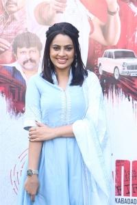 Heroine Nandita Swetha @ Kabadadaari Movie Audio Launch Photos