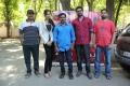 Kabadam Movie Team Meet Stills