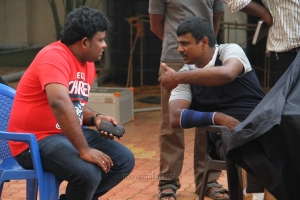 Director R.Sasidharan in Kadai En 6 Movie Stills