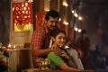 Karthi, Sayyeshaa in Kadai Kutty Singam Movie Stills