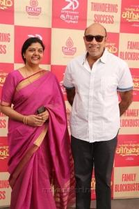 Bhanupriya, Sathyaraj @ Kadai Kutty Singam Success Meet Stills