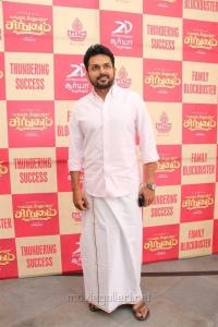 Actor Karthi @ Kadai Kutty Singam Success Meet Stills