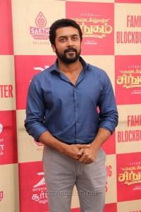 Actor Suriya @ Kadai Kutty Singam Success Meet Stills