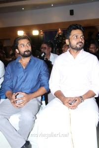 Suriya, Karthi @ Kadai Kutty Singam Success Meet Stills