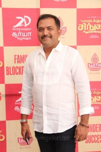 Rajasekar Pandian @ Kadai Kutty Singam Success Meet Stills