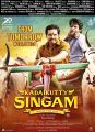 Karthi, Soori in Kadaikutty Singam Movie Release Posters