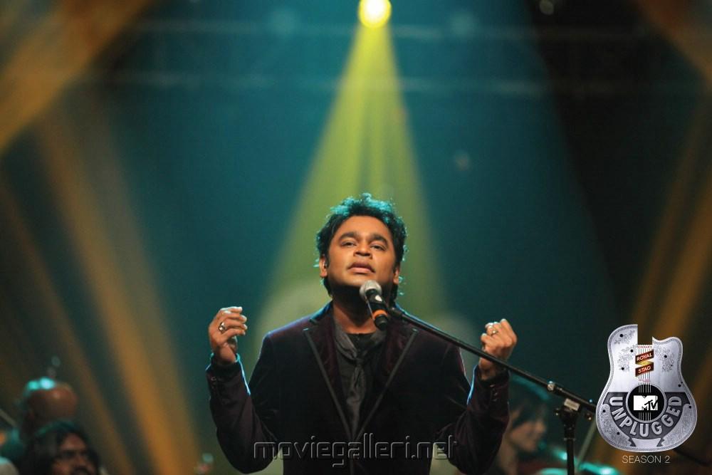 Picture 335483 | MTV Unplugged AR Rahman's Kadal Nenjukulley Song ...