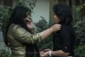 Actress Radha & Thulasi Nair at Kadal Movie Press Show Stills