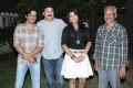 Arjun, Arvind Swamy, Mani Ratnam, Thulasi Nair at Kadal Movie Press Show Stills