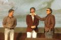 Arjun, Gautham, Katrthik at Kadal Movie Press Meet Stills