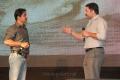 Arjun, Arvind Swamy at Kadal Press Meet Stills