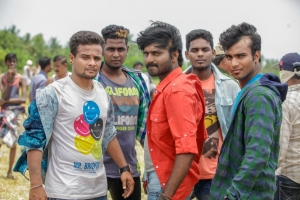 Ma Ka Pa Anand in Kadalai Tamil Movie Stills