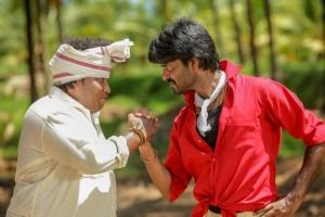 Yogi Babu, Ma Ka Pa Anand in Kadalai Tamil Movie Stills