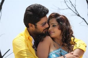Vinay Krishna, Hashika Dutt in Kadambari Movie Stills