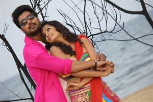 Vinay Krishna, Hashika Dutt in Kadambari Inti Number 150 Movie Stills