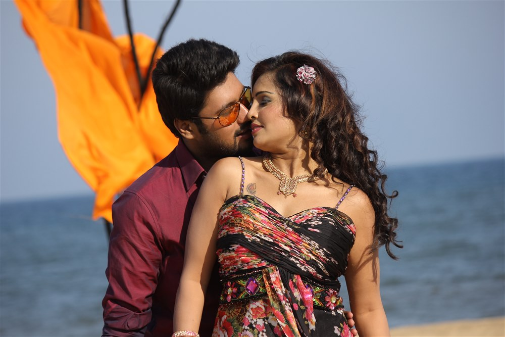 Vinay Krishna, Hashika Dutt in Kadambari Movie Stills