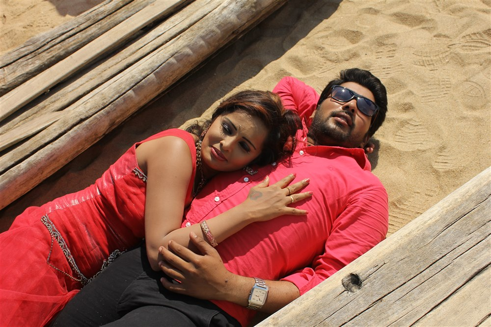 Hashika Dutt, Vinay Krishna in Kadambari Movie Stills