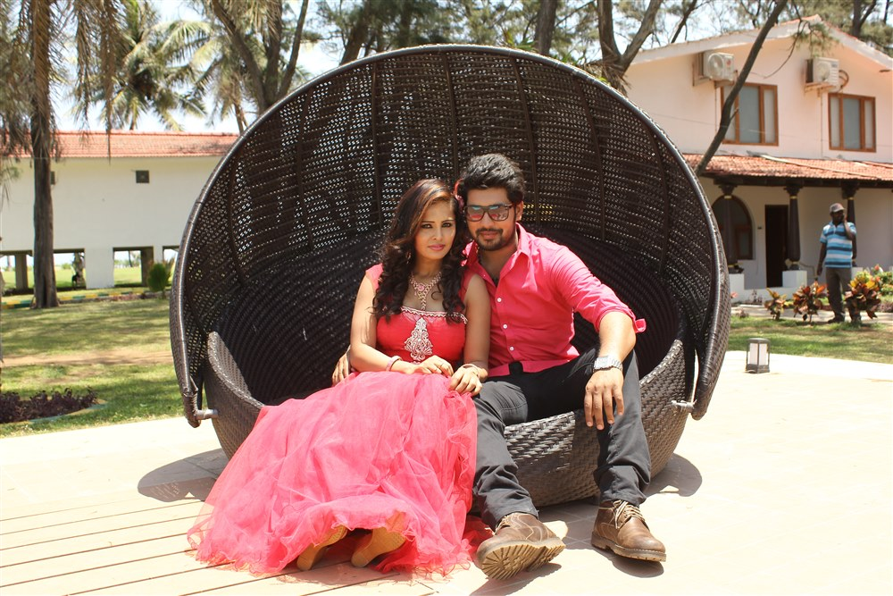 Hashika Dutt, Vinay Krishna in Kadambari Inti Number 150 Movie Stills