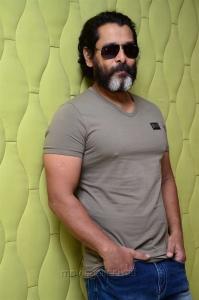 Kadaram Kondan Movie Hero Vikram Interview Pictures