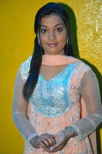 Sri Suhanya @ Kadavan Movie Pooja Stills