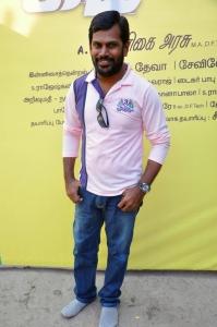 Cameraman Sevilo Raja @ Kadavan Movie Pooja Stills