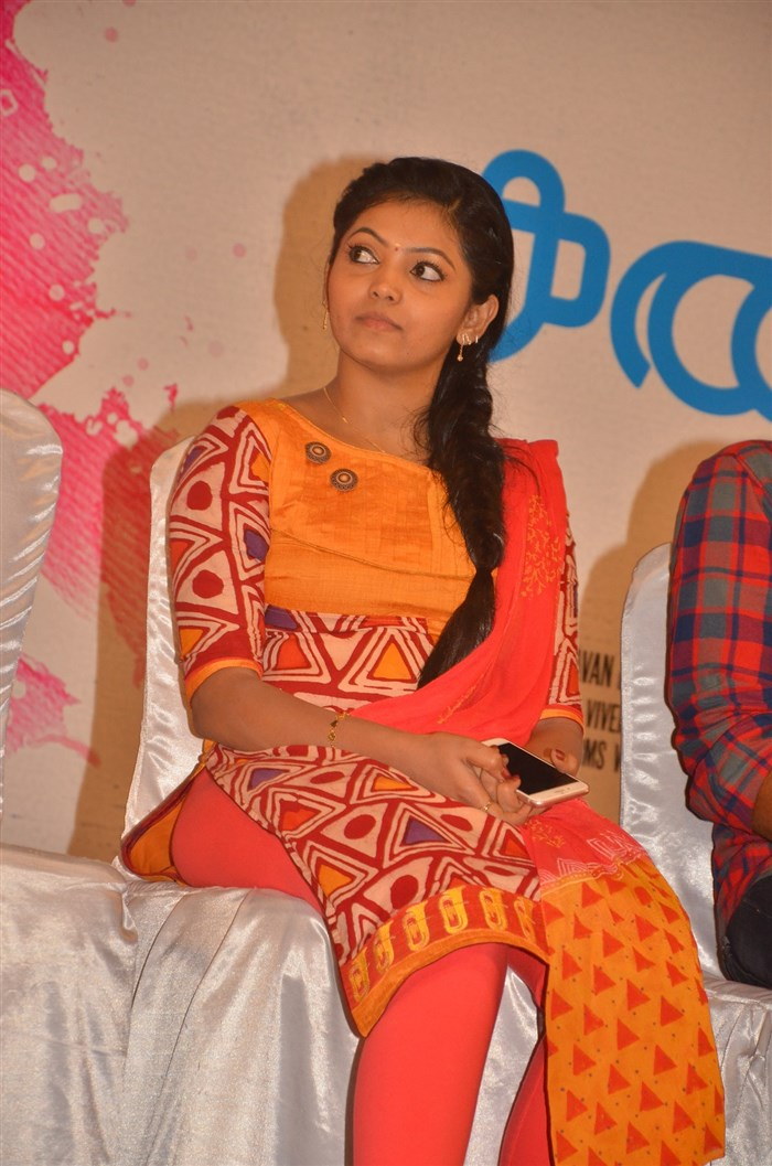 Actress Athulya @ Kadhal Kan Kattudhe Movie Press Meet Stills