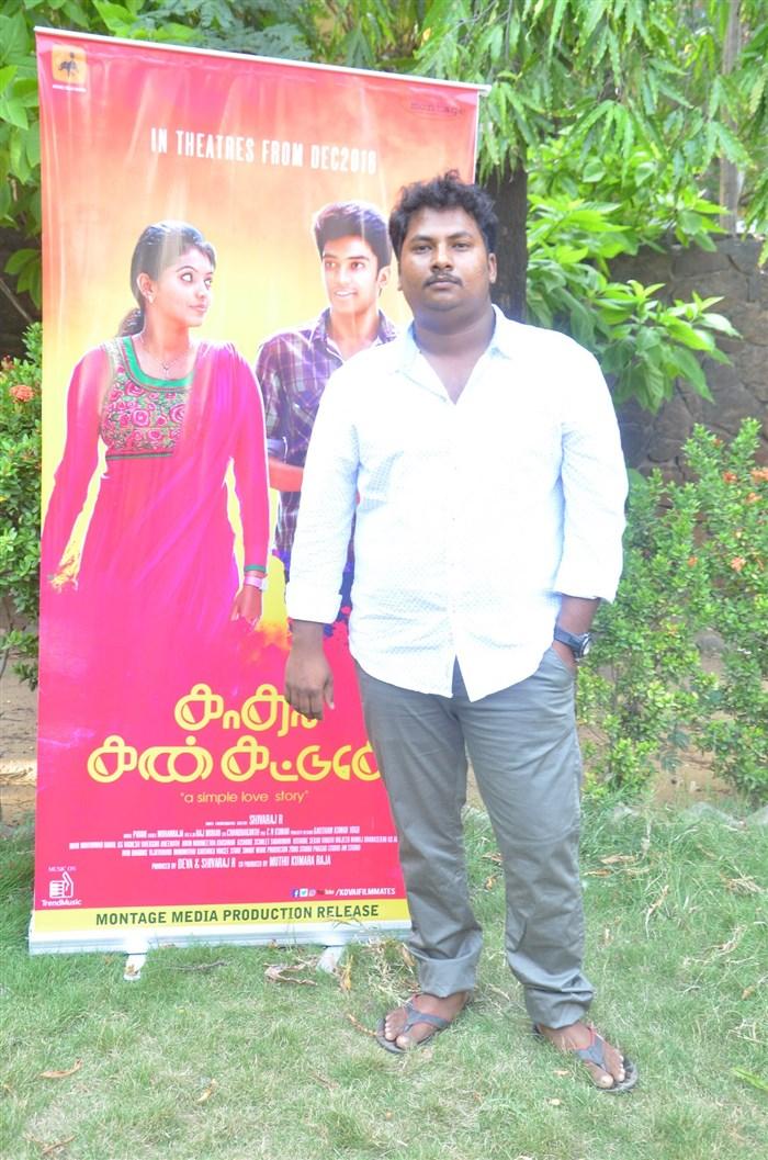 Director Shivaraj @ Kadhal Kan Kattudhe Movie Press Meet Stills