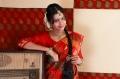 Kadhal Saranya in Silk Saree  Photoshoot Stills