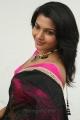 Actress Saranya Nag Saree Stills @ Retta Vaalu Audio Launch