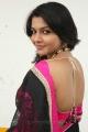 Actress Saranya Nag Saree Stills @ Retta Vaalu Audio Release