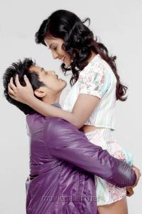 Ram Charan Tanvi Lonkar in Kadhal Theevu Movie Stills