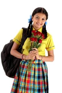 Actress Saranya Mohan in Kadhalai Thavira Veru Ondrum Illai Movie Stills