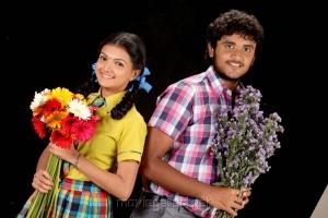 Saranya Mohan, Yuvan in Kadhalai Thavira Veru Ondrum Illai Movie Photos
