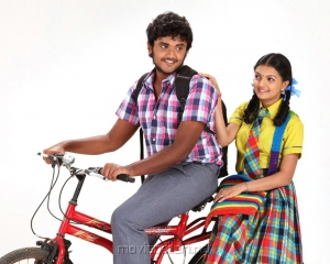 Yuvan, Saranya Mohan in Kadhalai Thavira Veru Ondrum Illai Movie Photos