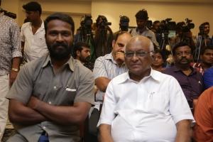 Vetrimaran, SP Muthuraman @ Kagitha Kappal Audio Launch Stills