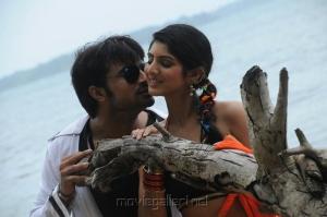 Vijith, Joshna in Kai Movie Stills