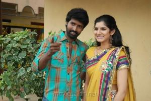 Soori, Joshna in Kai Tamil Movie Stills