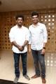 Lokesh Kanagaraj, SR Prabhu @ Kaithi Movie Press Meet Photos
