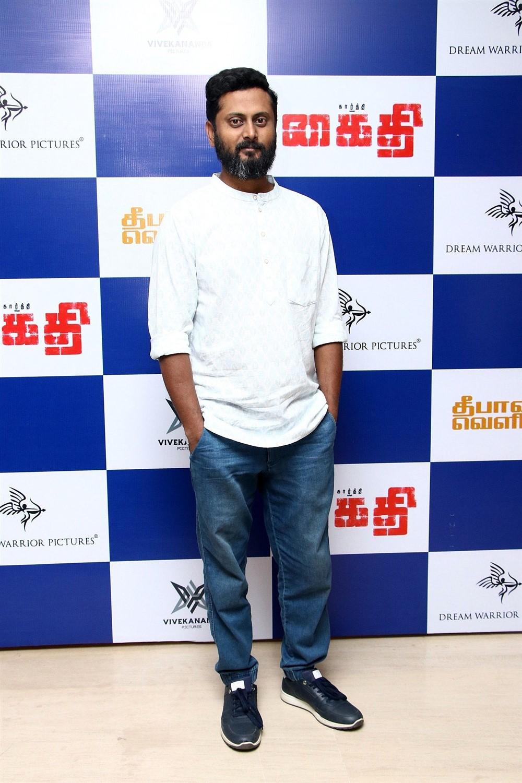 Sathyan Sooryan @ Kaithi Movie Press Meet Photos