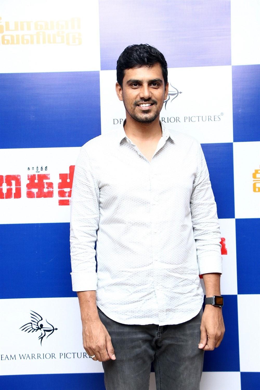SR Prabhu @ Kaithi Movie Press Meet Photos
