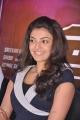 Kajal Agarwal Cute Smile Stills at Thuppaki Audio Launch