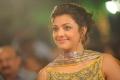 Kajal Agarwal in Beautiful Yellow Designer Dress at Nayak Audio Launch