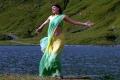Thuppaki Movie Heroine Kajal Agarwal in Saree Hot Stills