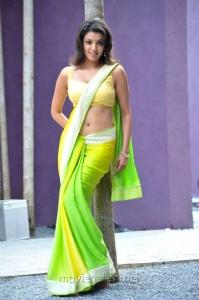 Businessman Kajal Saree Hot Pics