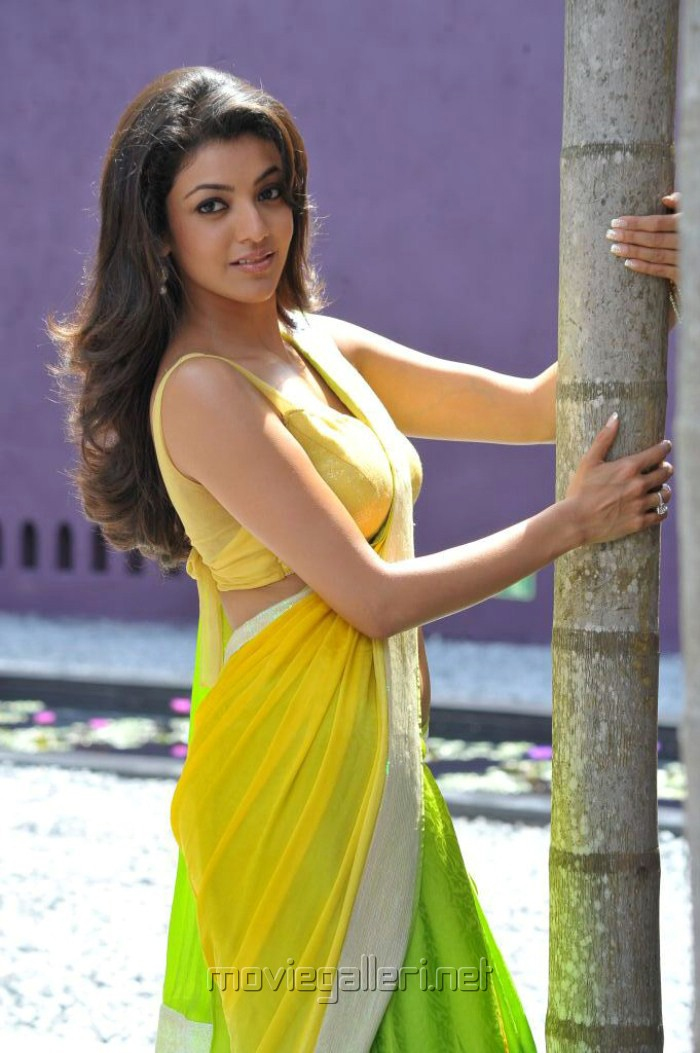 Picture 188896 | Kajal Agarwal Hot Saree in Businessman ...